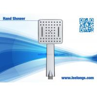 Buy cheap Plastic Waterfall Handheld Shower Head with Chrome Plating from wholesalers