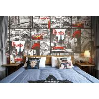 China Children PVC Vinyl Wallpaper Bedroom Decorated  Embossing Tech , 0.53*10m/Roll wholesale