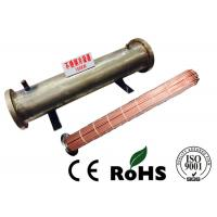 China Professional Horizontal Shell And Tube Condenser R407C Refrigerant Energy Saving on sale