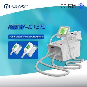 Beauty Salon Hottest Portable Cryolipolysis Slimming Machine with 2 Cryo Lipo Handles