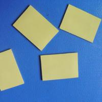 China Thermal Silicone Foam Rubber Gap Filler for Cooling Components / LED TV Yellow Soft Compressible wholesale