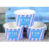 China Take Away Custom Branded Ice Cream Cups Food Grade For Frozen Yogurt wholesale