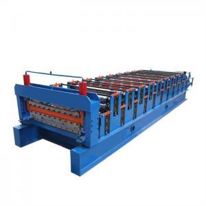 China Color Tile Sheet Roll Forming Machine/ CNC Rolling Machine 380V 60HZ on sale
