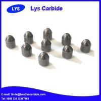 China Cemented carbide buttons & inserts for mining tools D types parabolic button wholesale