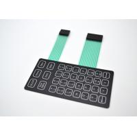 China Lightweight Metal Dome Membrane Switch With PET/PC/PMMA/PVC Flat Push Buttons wholesale