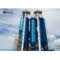 China Sheet Type Mobile Cement 50T Fly Ash Storage Silo wholesale