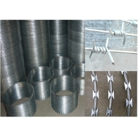 China Galvanized Two Strands SWG16 1.5cm 4 Point Barbed Wires wholesale