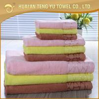 China Boutique ultra soft 100% cotton pure white luxury hotel bath towels sets wholesale