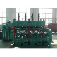 China Carbon Steel Pipe Straightening And Cutting Machine 22 * 2 KW With 600 Mpa High Speed wholesale