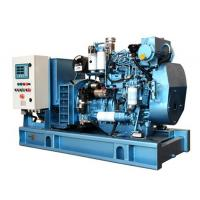China 1500 RPM Diesel Generator Closed Cooling Open Type Diesel Generator With Fuel Tank Base wholesale
