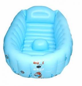 China 0.25mm PVC Inflatable Swimming Pools , Plastic Infant Baby Bathtub wholesale
