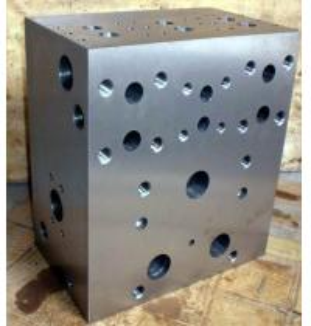 China HYT60 HYT-60 Forged Forging Steel  CNC machining Turning Milling Turned hydraulic control  valve manifolds Blocks wholesale