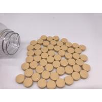 China Potassium Magnesium Slow Release tablets A yellow colored, round shaped, coated tablet which compares to standard BT8R wholesale