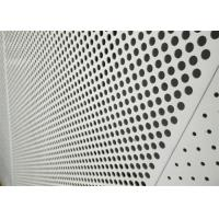 China Decorative Perforated Aluminum Sheet 5005 For The Curtain Wall / Electric Conductor wholesale