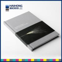 Quality 140x210mm white lacquer  Hardcover Book Printing with Gray board 300 - 1800gsm for sale