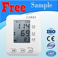 China Extra Large Cuff Digital Blood Pressure Monitor Double Filter Fuzzy Algorithm wholesale
