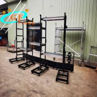 China Aluminum Alloy LED Display Truss Ground Support System wholesale