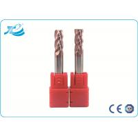 China Carbide Corner Radius End Mill Milling Cutter Tools , Corner Rounding End Mill wholesale