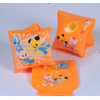 China Custom Safe Double Chamber Inflatable Arm Bands / Arm Rings For Kids To Learn Swimming wholesale
