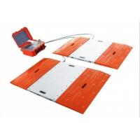 China Cabled Type Truck Axle Scales , Vehicle Weight Scales Alloy Aluminum Material wholesale
