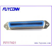 China Receptacle 24 Pin Centronics Connector , Centronic Solder Connector on sale