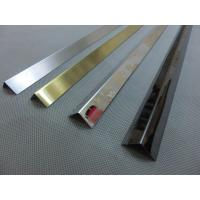 Brushed Finish Silver Stainless Steel Angle U Shape Trim 201 304 316 Wall Frame