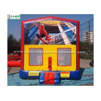 China Spiderman Inflatable Bounce Houses wholesale