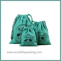 China Cotton Linen Drawstring Bags Cotton Organizer Drawstring Bag Cotton storage bag wholesale