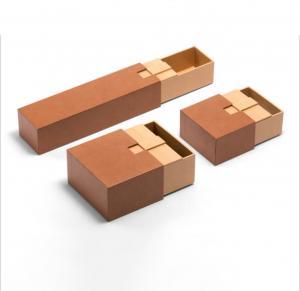 China Handmade Kraft Cardboard Luxury Paper Gift Box For Cosmetic / Perfume wholesale