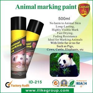 Quality Livestock / Animal Marking Spray Paint 750ml , High Reflective Spray Paint ISO / CE wholesale