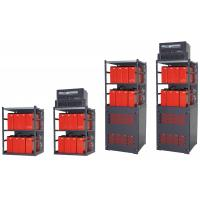 China Indoor Combination Telecom Power Supply Compatible Battery Rack Optional Layers on sale