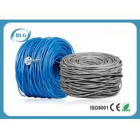 China 500/1000FT Cat6 Utp Network Cable Pure Bare Copper CM CMX Unshielded UTP Cabling wholesale