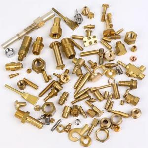 China PRO/E CAD 2D 3D Format Lathe Machine Brass Machined Components wholesale