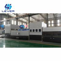 China Automotive Glass Tempering Furnace for side lites & rear glass Double curvature 1600x800mm wholesale