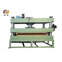 China 11kw 300T Green Hydraulic Heat Press Molding Machine For Door Plate wholesale