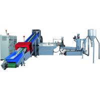 Buy cheap PP, PE, PET Plastic Recycling Pellet Machine With Special Screw Design from wholesalers