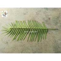 UVG cheap fake indoor plastic palm tree leaves wholesale for party and events
