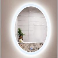 China SMART TOUCH SWITCH LED BATHROOM MIRROR OEM PRICE   Custom Made Round LED Backlit Bathroom Mirror on sale
