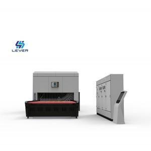 China Freezer Shaped Glass Tempering Furnace Refrigerator glass bending machine wholesale