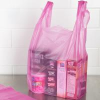 China Purple Colour plastic grocery bags HDPE Material biodegradable plastic bags wholesale