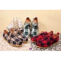 China Wholesale New top grade b-urberry mens leisure designer cloth casual classic grid shoes wholesale