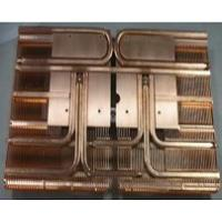 China Thermal Management Copper Pipe Heat Sink Copper Base Plate Industrial Controls wholesale