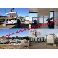 Buy cheap Modern Steel Frame Modular &Prefab Container Homes For Site Office And Temporary from wholesalers
