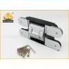 China 3D Adjust Gate Metal Door Heavy Duty Exterior Hinges 180 Degree wholesale