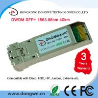 China Fiber Optic Module Transceiver DWDM SFP+ Cisco compatible wholesale