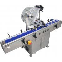 China Automatic Flat Surface Label Applicator Machine,SUS304 stainless steel economy automatic top and side labelling machine wholesale