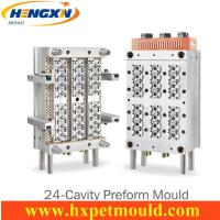 Quality 24 cavity PET preform mold with Air shut off nozzle wholesale
