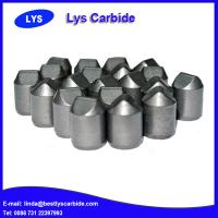 China Cemented carbide buttons & inserts for mining tools B types side wedged buttons wholesale