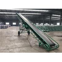 China Multi Purpose Rubber Mobile Belt Conveyor Fireproof With Adjustable Height wholesale