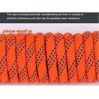 China 6mm accessory cord climbing rope nylon 66, high strength fire escape safety climbing rope wholesale